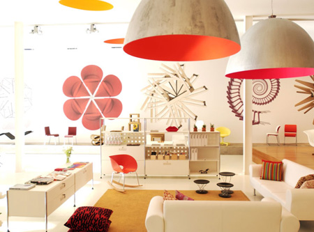 Vitra Showroom, Los Angeles
